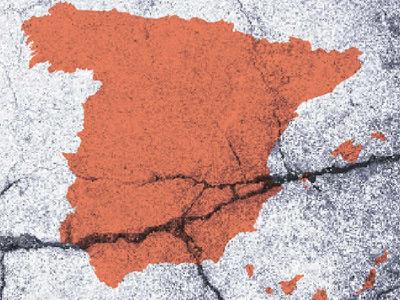 Tectónica de placas e independencia de Cataluña