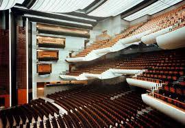 Interior de la Ópera de la Bastilla en París