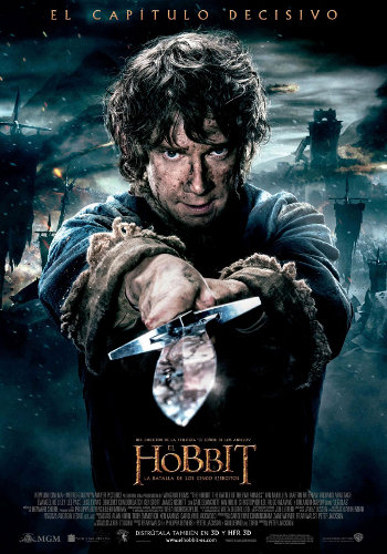 Cartel de El Hobbit 3