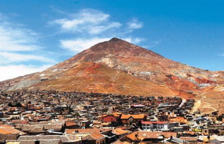 Potosí (Bolivia). Actualmente tiene los mismos habitantes que en el siglo XVII